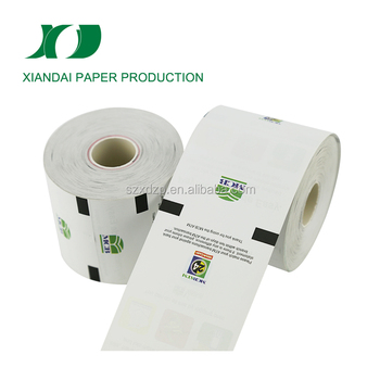 Hot selling high quality most popular atm receipt paper rolls