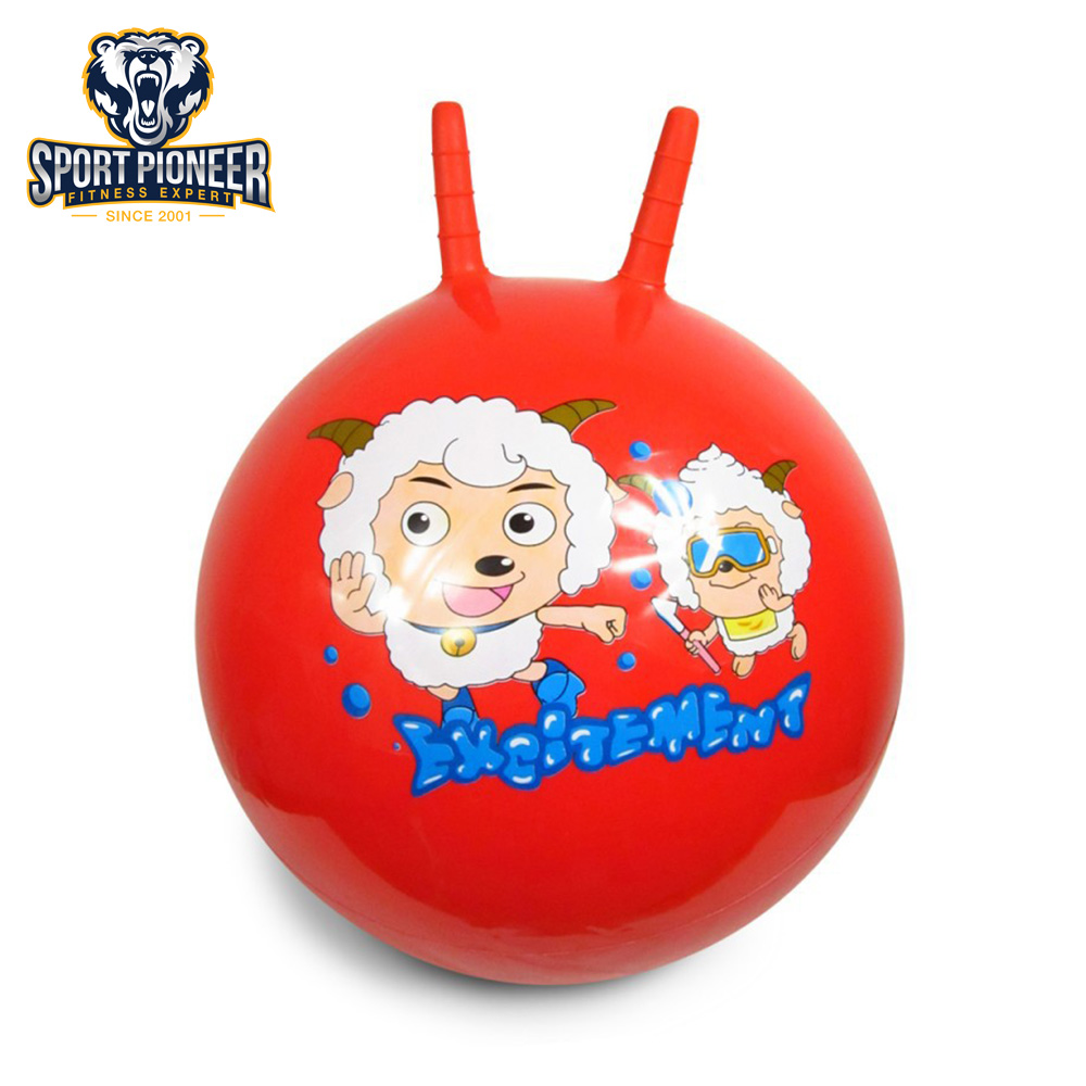 Fitness Carton Skippy Jumping Ball for Kids