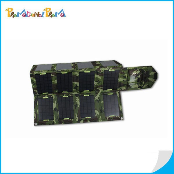 Foldable Portable Solar Mobile Phone Charger Solar Power Bank Charger