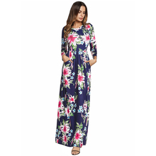 Long Hot Style New Designs Long Sleeve Maxi Dress