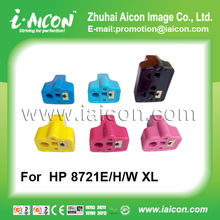 For hp ink 02 Compatible and Remanufactured inkjet cartridge