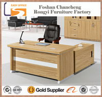 Good quality boss modern director latest office table designs in wood