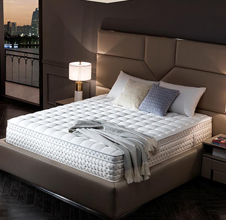 12 Inch HD Comfortable foam aloe vera mattress pocket spring mattress 7 zoned colchon - Jozy Mattress | Jozy.net