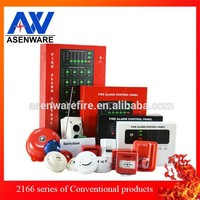 Optional GSM module to 4 zone fire alarm panel by SMS