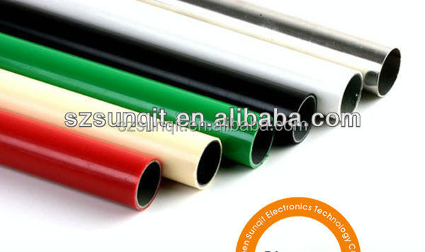 PVC/PE/ABS coated flow tube