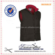 Cheap Wholesale Winter Vests & Waistcoats padded outdoor wear