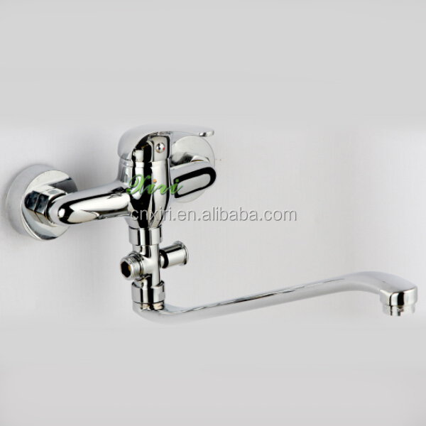 Commercial brass kitchen mixer faucet,Sanitary ware,Bathroom Accessories S095-9A