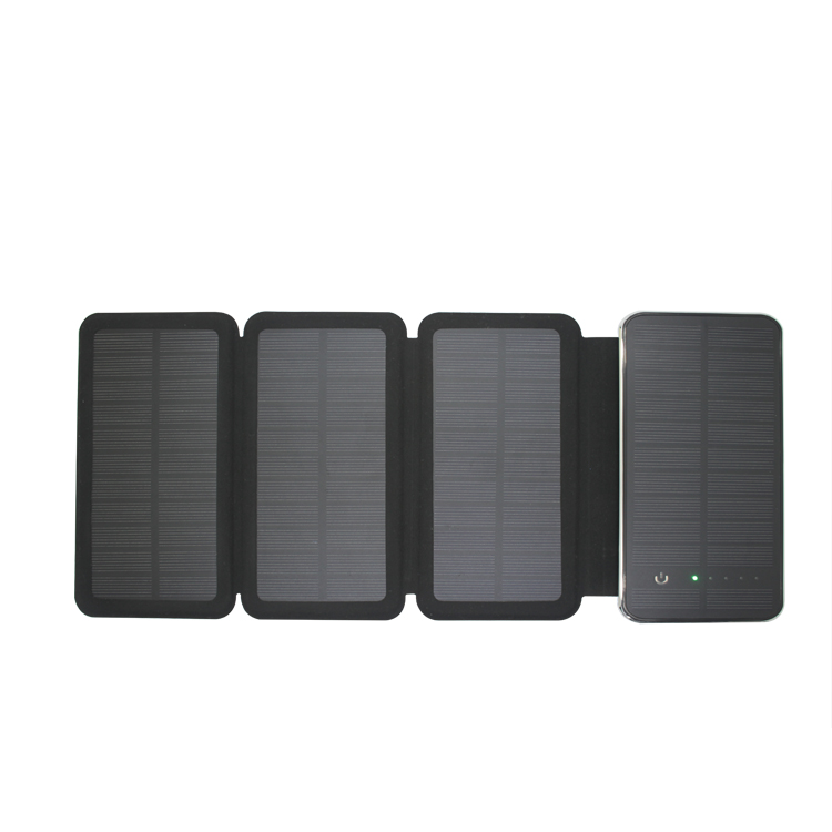 Multi-function solar charger foldable for smart phones