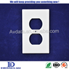 Frame of XRL wall plate audio video wall plate