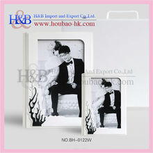 top sales white wedding photo album case