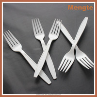 promotional long handle heavy weight disposable fork
