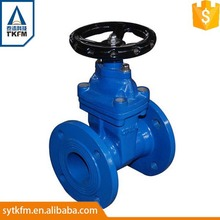 Factory High pressure WCB gear operated flange connection gate valve