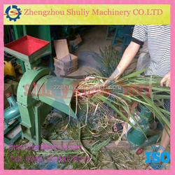 Large output 15t/day stalks and straw crusher - hay cutter - cotton stalk cutter