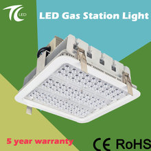 High Lumen Ceiling Industrial IP65 Gas Station Led Canopy Lights