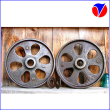 ISO9001 High Quality OEM Industrial/Agriculture/Antique Wheel Cast Iron Cart Wheel