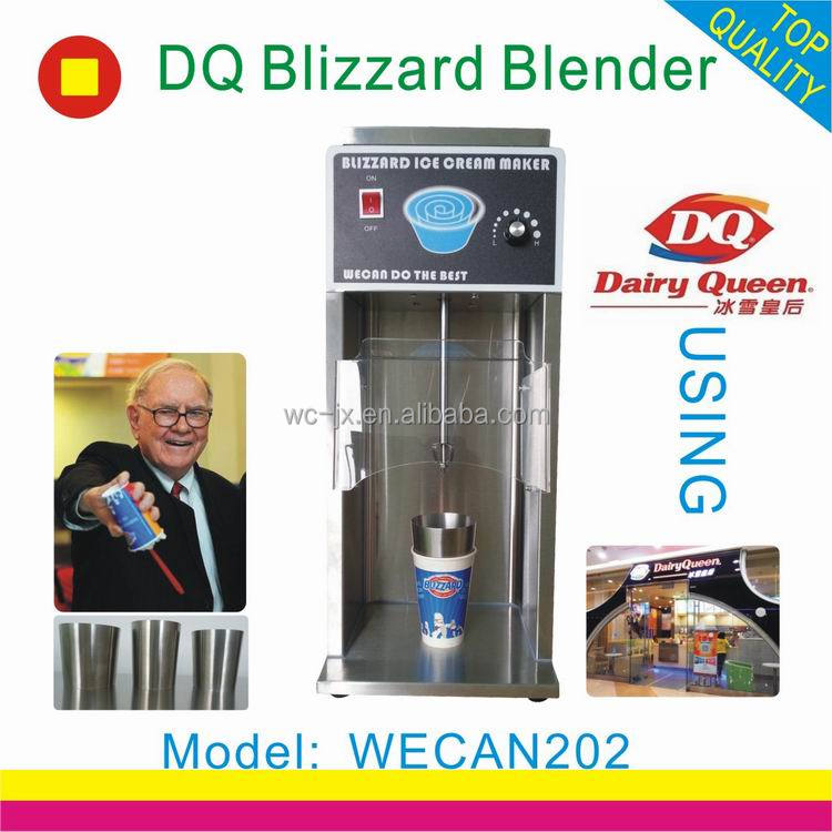 2016 new design mc flurry blizzard ice cream mixer milkshake machine