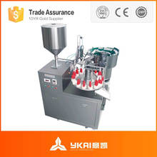 Cyanoacrylate Adhesive & Super Glue Plastic bottles filling machine