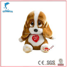 Plush dog toy CE/ASTM-F963/ISO9001 certificated stuffed toys