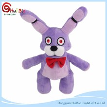 Plush Dog Chew Toy Made In China Purple Standing Rabbit Plush Toy