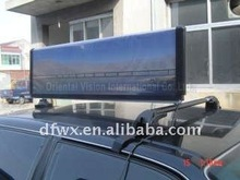 New slim taxi ligt box/Taxi top ADS/Moving advertisements light box/