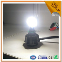 h4 high power led headlight for motorcycle 24w high beam