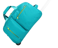 high quality fashion sports travel trolley luggage bag