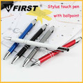 Top Selling Luxury steel stylus touch pen with rotation type metal stylus pen for smartphone