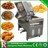 Multipurpose potato chips/meat/chicken/plantain chips/onion frying machine