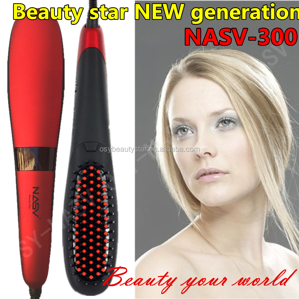 Best Selling Hair Salon Products Magic Straight HairStyling as seen tv Straightening Comb Heat Hair straightener brush comb