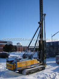 Construction machinery:Gerrman Used Pile diving machine