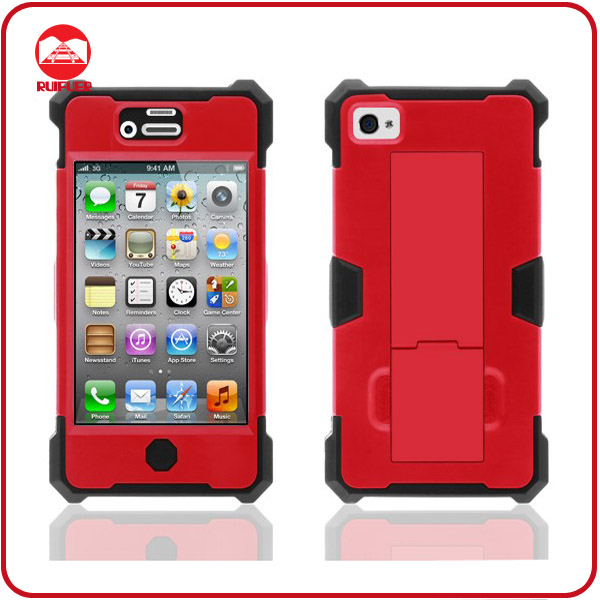 New Style Product for 2013 Hybrid Armor Stand Holder Combo Robot Phone Case for Iphone 5