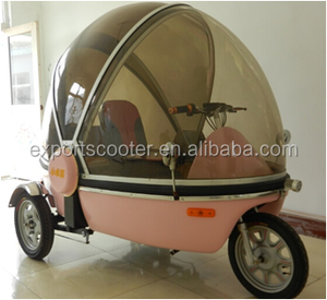 bubble three wheel e trike for passenger three wheel bicycle philippines