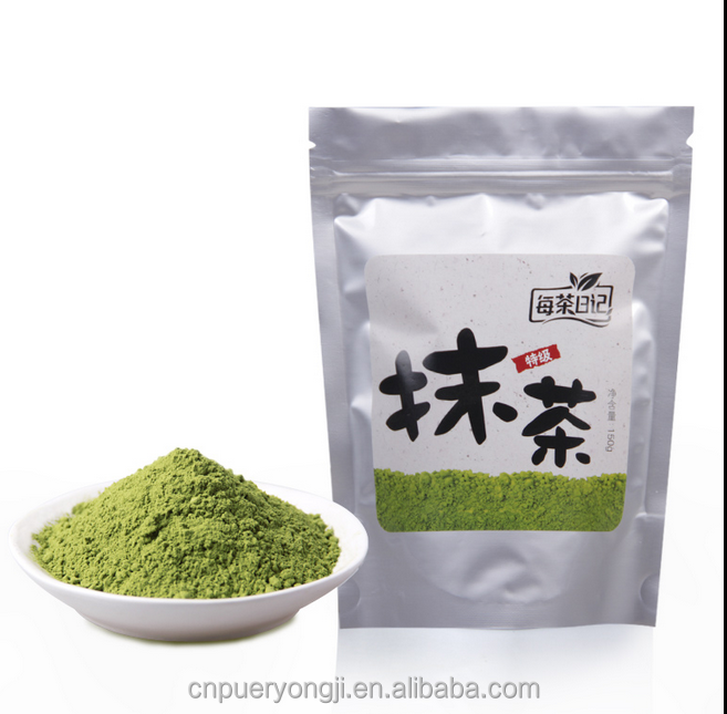 100% Pure Organic Natural Matcha Green Tea Powder For Private Label Service