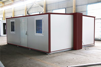 removed mobile modular prefabricated smart folding container home