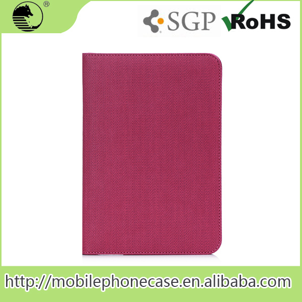 2016 Good Quality Cheap Price Stand PU Leather Case for iPad mini 1/2/3 7.9''