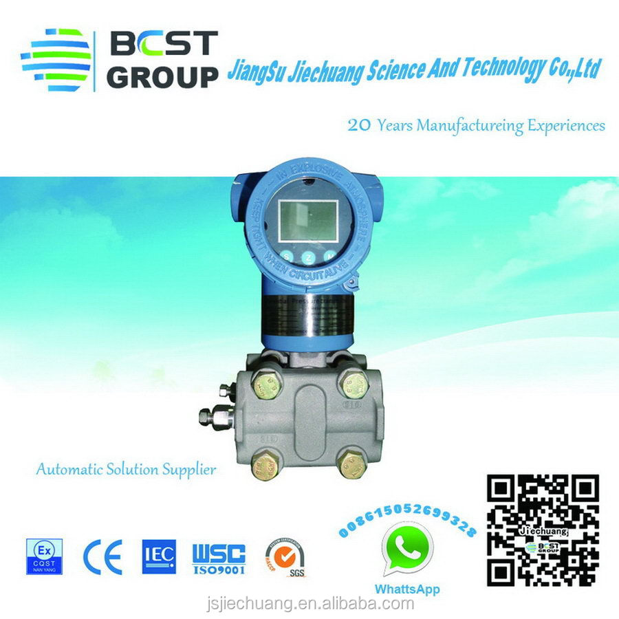 China supply 4-20mA Hart pressure transmitter