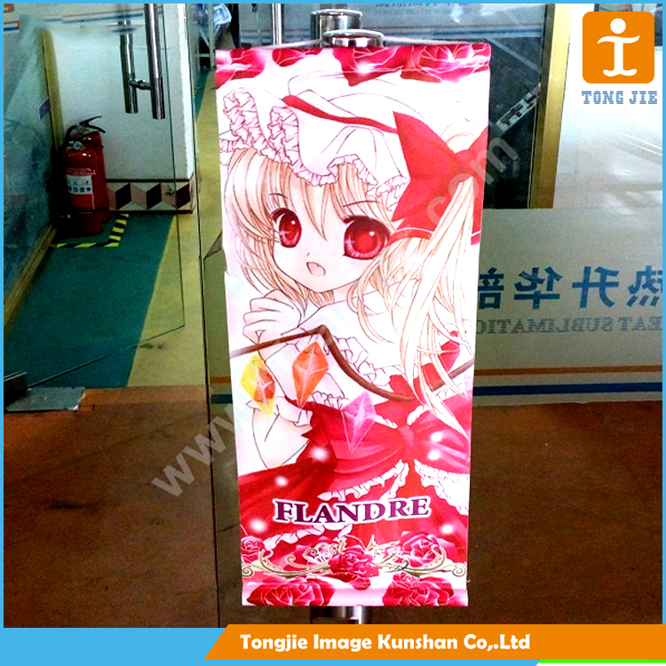 High quality hanging indoor fabric banner