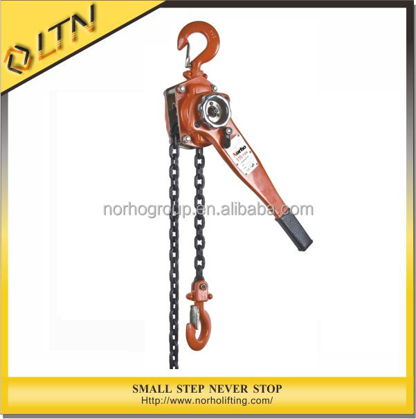 New Product CE&GS TUV Approved Manual Lever Chain Hoist&Wire Rope Pulley Hoist