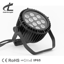 12pcs 10w waterproof outdoor rgbw 4in1 led par can light