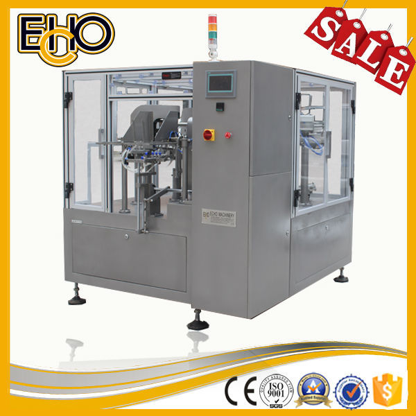2015 New cheap best selling multifunction rotary Pouch-Counting full automatic Preserved food Carousel type Packaging Machinery