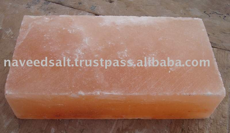 Rectangle Pink Crystal Himalayan Rock Salt Tiles and Bricks