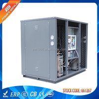Water to water CE approved high efficiency R407C DC inverter geothermal/ground source/ground heat pump