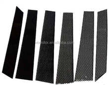 REAL CARBON FIBER DOOR PILLAR PANEL For FORD 2DOOR 04UP T029B