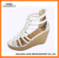 2014 Latest Wedge Heel Espadrille for Women