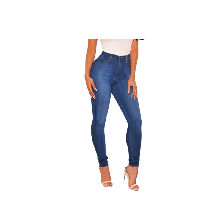 Wholesale Vintage European Women Large Size Skinny Hot Jeans