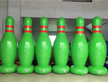 Customized inflatable human bowling game,Giant inflatable advertising bowling