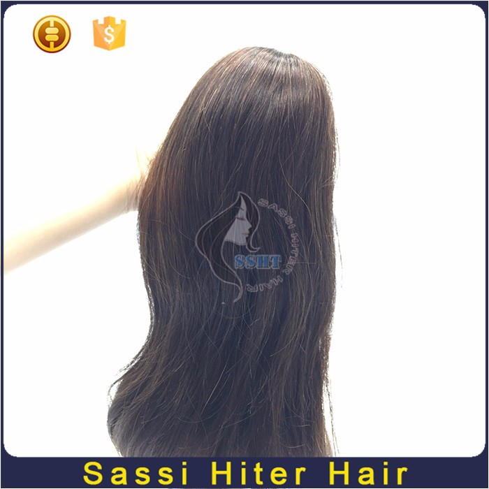 Professional Factory Supply Black Ponytail Wig