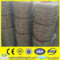 steel wire iron barbed wire mesh fence/galvanized barbed wire fence/barbed wire specifications