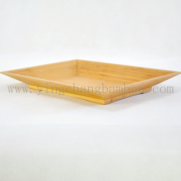 bamboo decorate custom design fruit plate