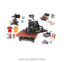 New Design 6 In 1 Cheap Heat Press Machine Digital T-shirt Printing Machine